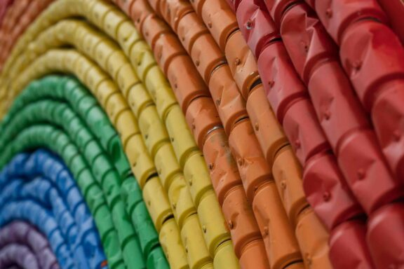 Lattine arcobaleno